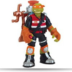 Mutant Ooze Launchin Mikey Action Figure