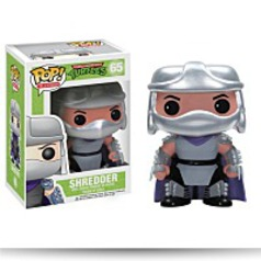 Pop Television Tmnt Shredder Vinyl Figure
