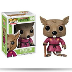 Pop Television Tmnt Splinter Vinyl Figure