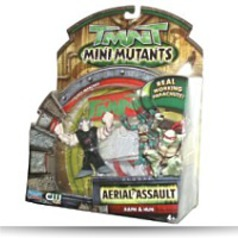 Year 2008 Tmnt Mini Mutants Aerial Assault